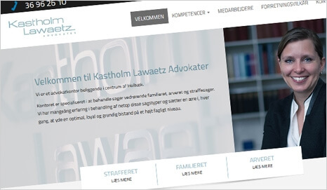 Webbureau Holbæk, reference fra KL Advokater