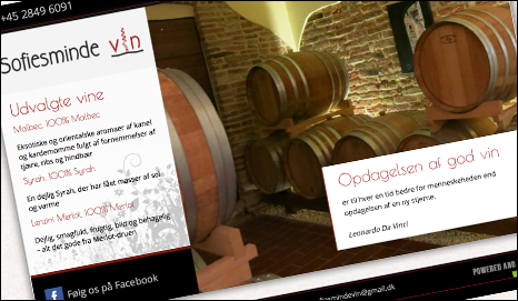 Reference, Sofiesminde vin